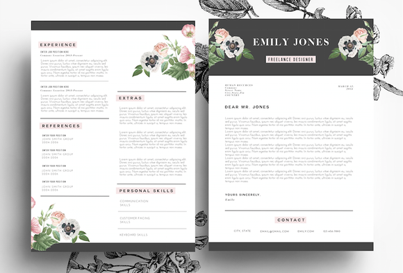Resume Templates That Look Great In   Boutique Creative