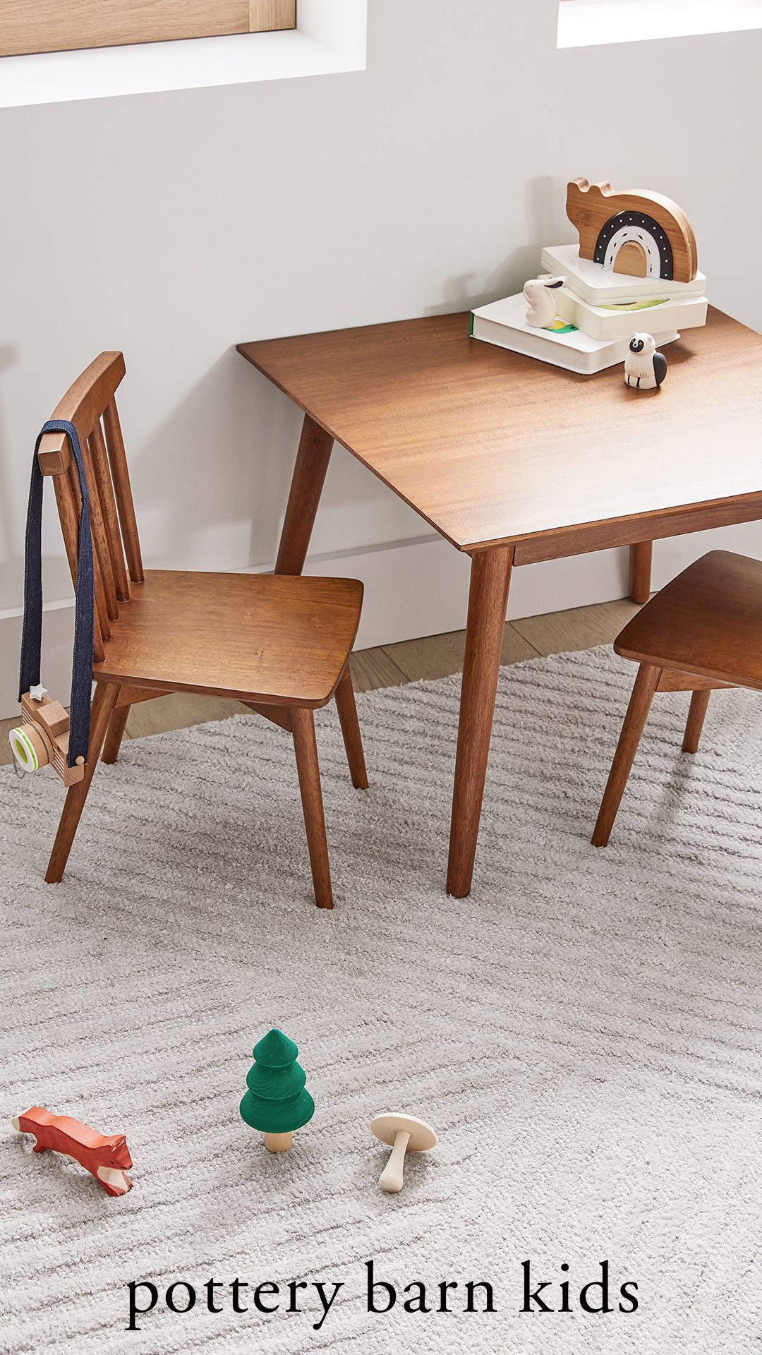 pottery barn kids play table on west elm x pbk mid century my first play table play table kids play table table pinterest