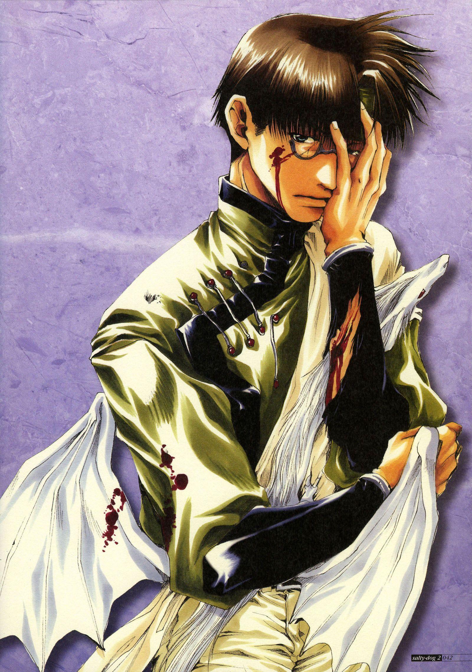 Kazuya Minekura, Studio Pierrot, Saiyuki, Salty Dog II
