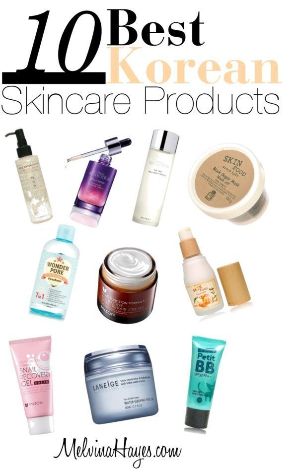 Top 10 Korean Skincare Products Skin Care Best Skincare Products Korean Skincare