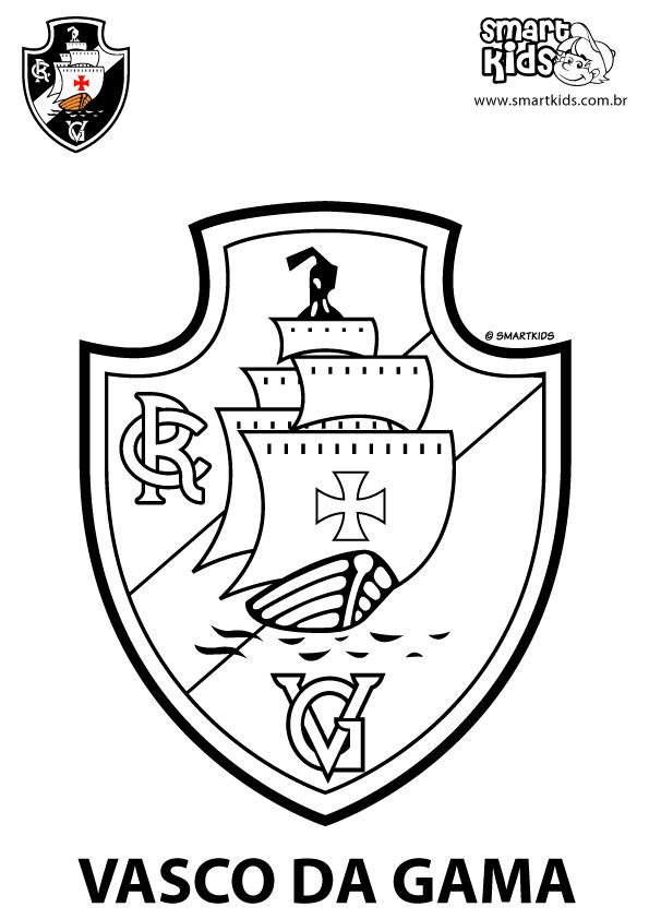 Colorir Desenho Vasco Da Gama Simbolo Do Vasco Papel De Parede