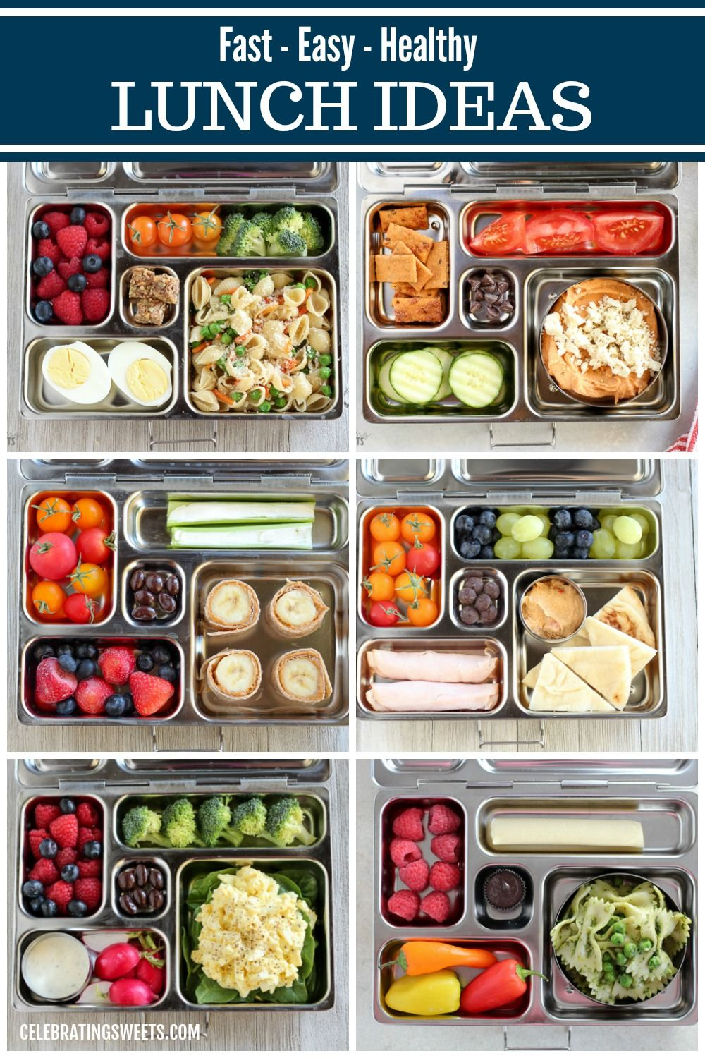 New Healthy Meal Ideas For Lunch At Work