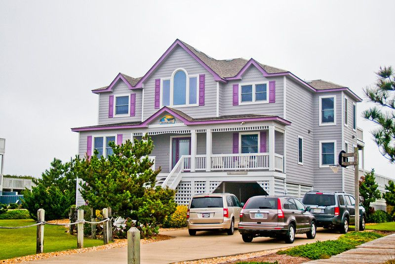 Duck, NC event rental home. The private walkway to the beach will give you easy beach access as well as the dune top deck will give you great photo ops.