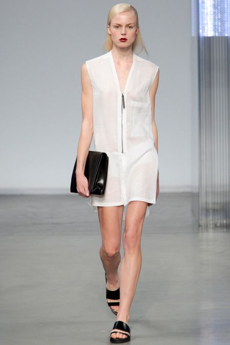 Helmut Lang Spring/Summer 2014 #nyfw #mbfw #springsummer #fashionweek #catwalk #runway #2014 #ss14 #model #fashionshow #fashion #helmutlang
