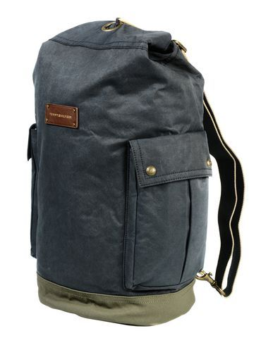 TOMMY HILFIGER Rucksack & bumbag. #tommyhilfiger #bags #leather #canvas #nylon #cotton #