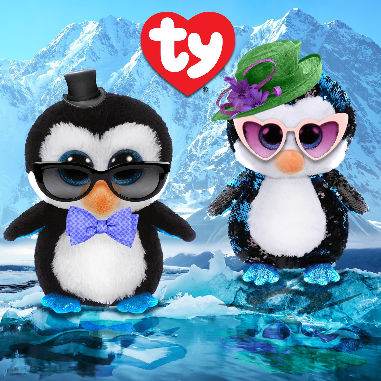 4356ea228c3 Cool Ty penguins