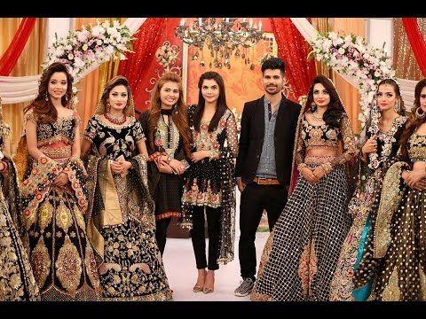 Mehndi Makeup Karachi : Kashees live special appreance in good morning pakistan for makeup