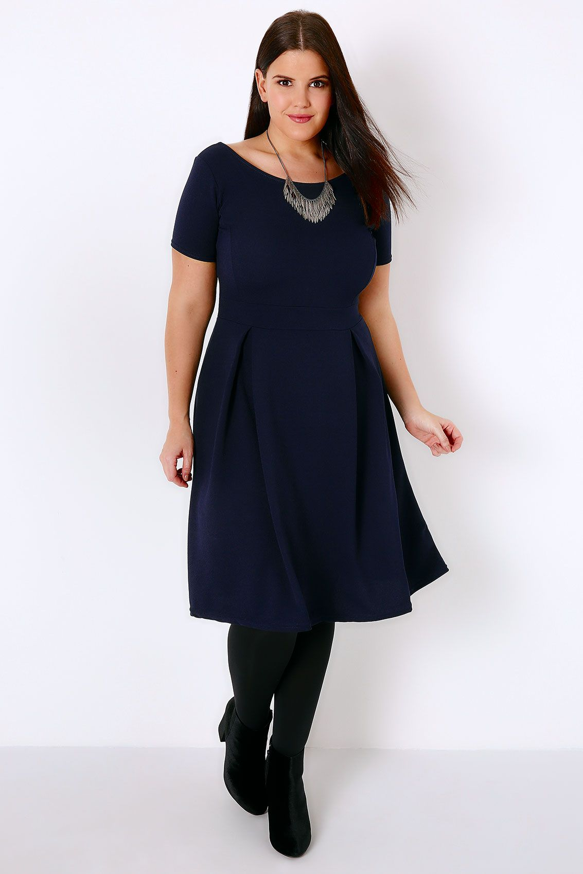Outfit 16226 | Fit flare dress, Latest outfits