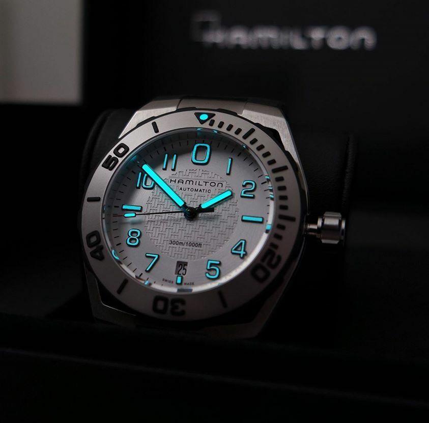 Hamilton Khaki Navy Sub Auto Watches