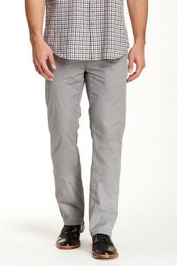 Slim Straight Flap Pocket Pant