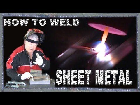 Welding Mild Steel Sheet Metal | TIG Time