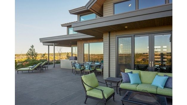 Exterior Rear Patio Great For Outdoor Living Dwell Design Modern