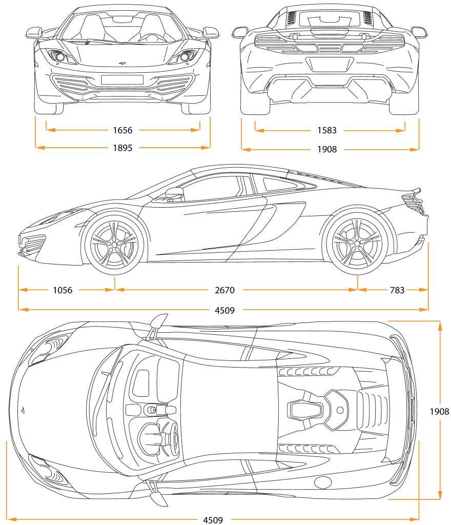 Auto Design Zeichnen