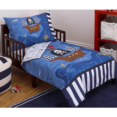 Little Tikes Pirate 4 Piece Toddler Bed Set