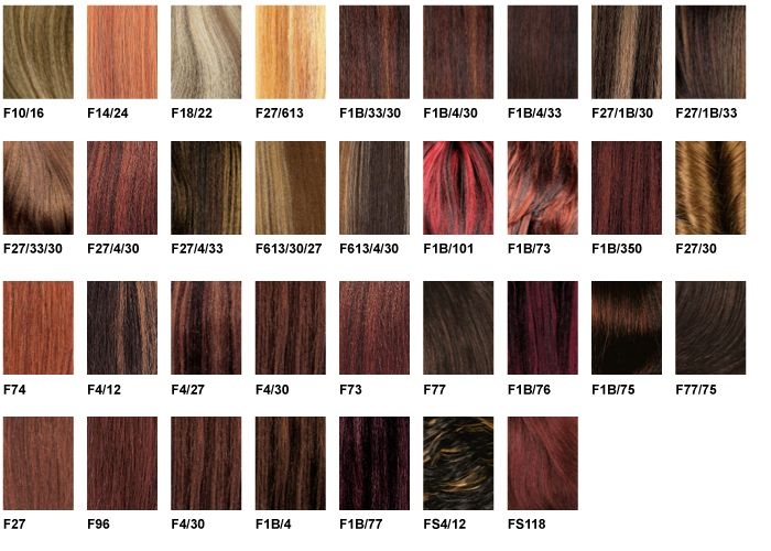 Zury - Color Charts in 2019 | Hair | Wig