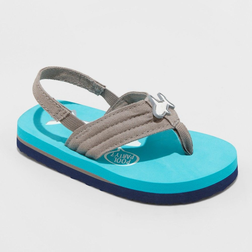 f87f9cd73 Watch your little one explore the beach while he wears the Lenard Flip-Flop  Sandals