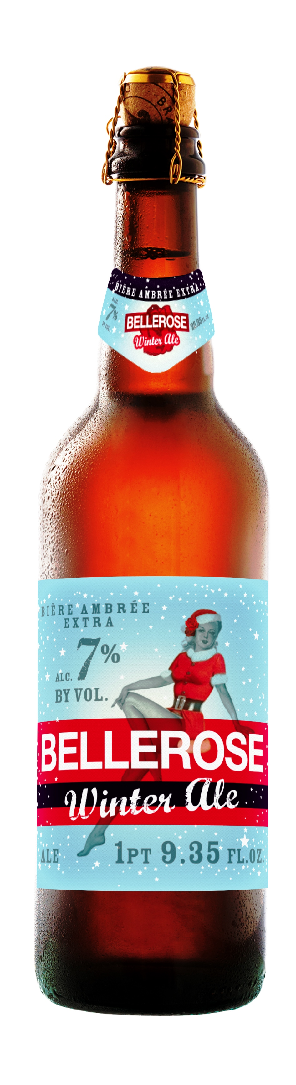 Bellerose Winter Ale imported by Iron Horse Beverage LLC - Melville, New York