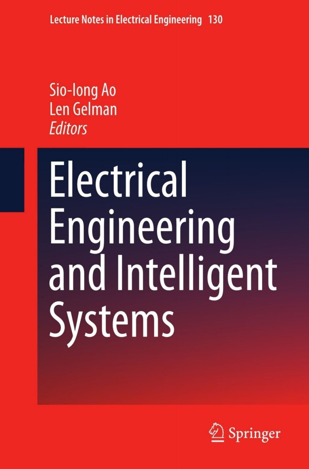 Electrical Engineering and Intelligent Systems (eBook