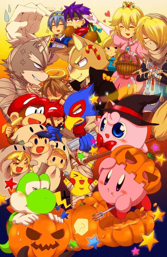 Super Smash Bros Halloween Super Smash Bros Brawl Smash Bros Nintendo Super Smash Bros