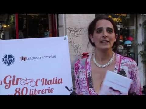 Myriam Nordemann - Ciclismo mon amour - il Giro d'Italia in 80 librerie - Milano 2014 - YouTube