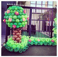 lalaloopsy balloon decoration - Buscar con Google