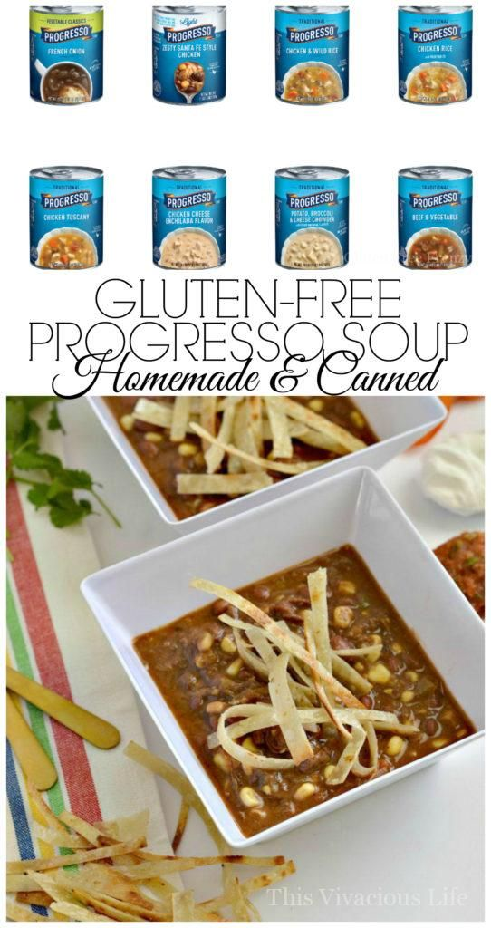 Gluten Free Progresso Soup Homemade And Canned For All Those Who
