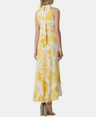 7fddc238024f5 Tahari ASL Printed Halter-Neck Maxi Dress in 2019 | Products ...