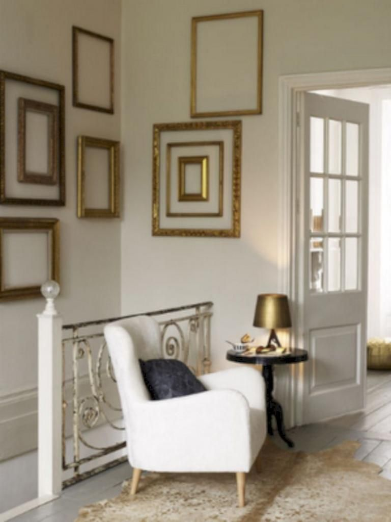30 beauty empty frames design in wall home decor gold on wall frames id=13245