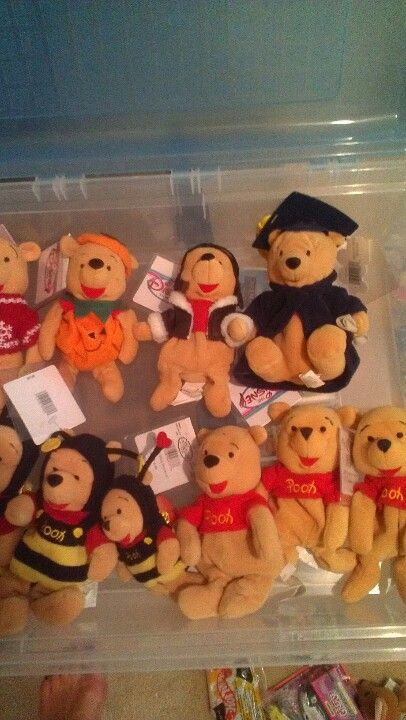 Dozens of limited edition first edition Disney beanie babies of all sorts  all have been in boxes with tag protectors please comment if interested d6b71597e04