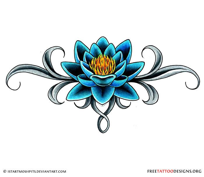 Lotus Tattoos Are Meant To Represent Life New Beginnings And The