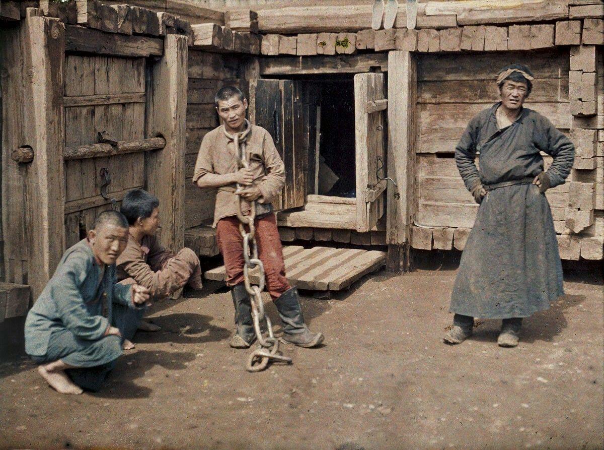 Mongolia, Ulaanbaatar (prisoner), 1913.