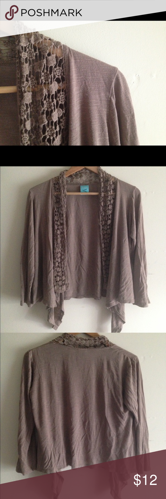 Lace cardigan | Conditioning