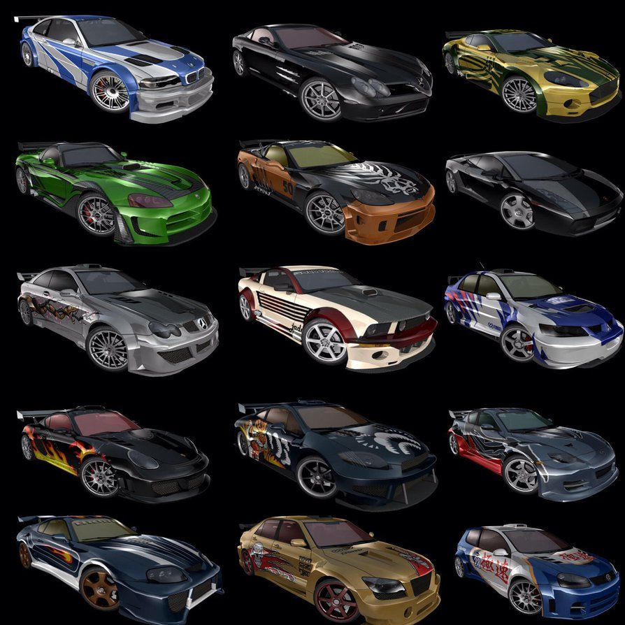 Nfs Mw 2005 Blacklist Cars Dodge Viper 2005 Ford Mustang