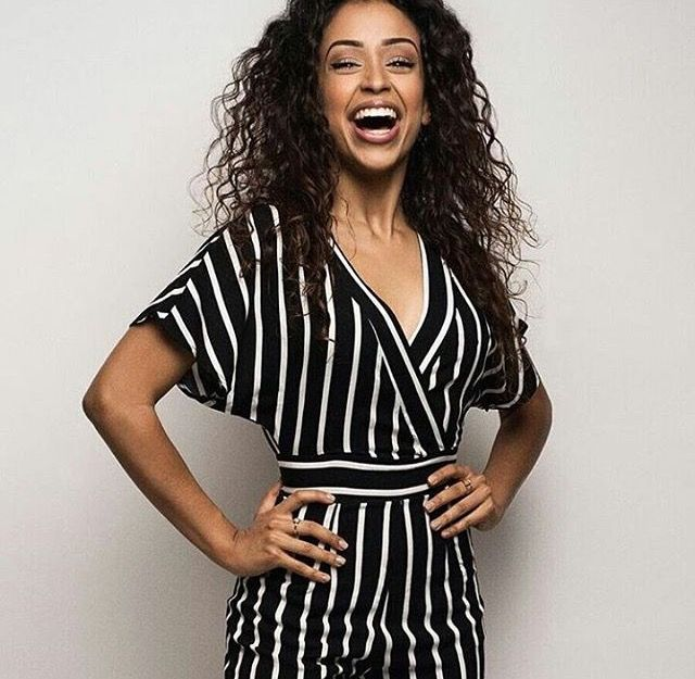 Where can I find this romper that Liza Koshy is wearing?