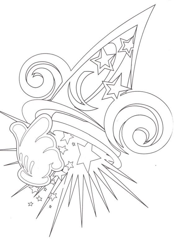 Hollywood Studios Mickey Coloring Pages Disney Coloring Pages