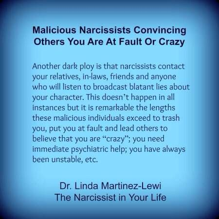 Narcissists commonly tell people that you are unstable, bipolar