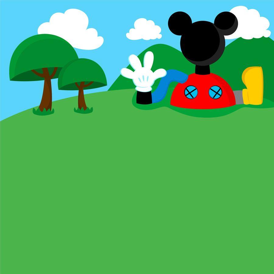 Fondo Casa Mickey La Casa De Mickey Mouse Mickey Casa De Mickey
