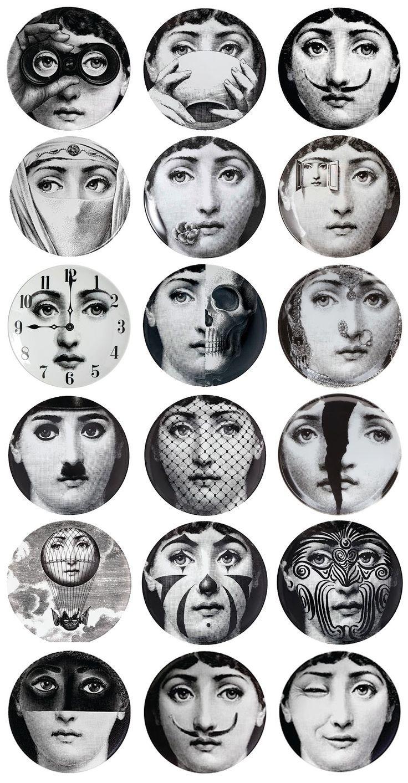 100 Remarquable Idées Papier Peint Visage Fornasetti