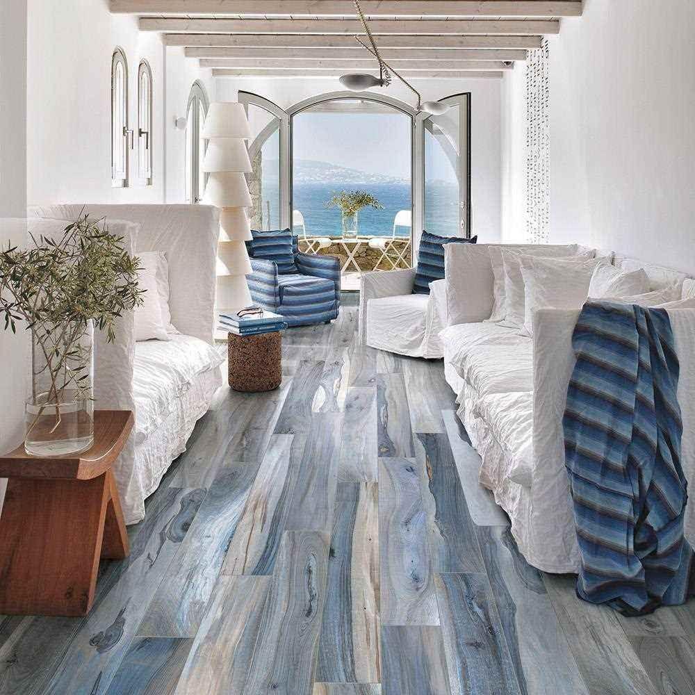 New Zealand Tasman Natural Wood Effect Floor Tile 120 X 1200mm