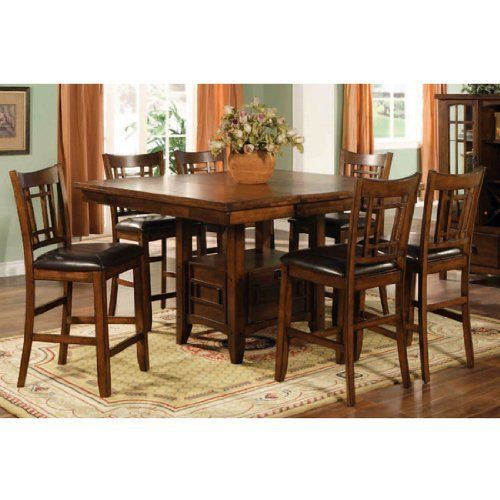Low Cost Dining Table Sets: Buy Low Price Lifestyle California Eureka Counter Height
