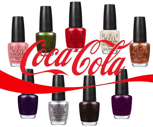 I Think It Ing That A Get T E Inspired Nail Polish Opi Coca Cola Collection