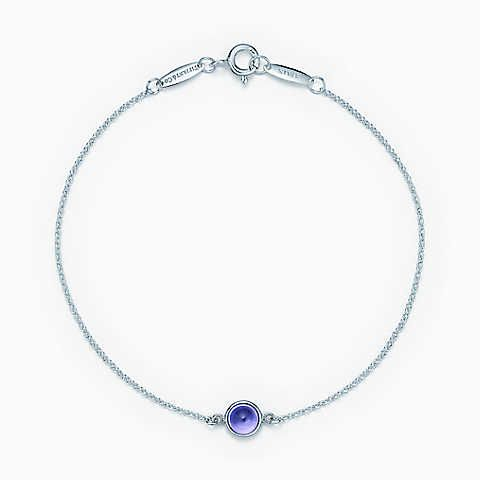 Elsa Peretti Color by the Yard bracelet in sterling silver with black jade Tiffany & Co. Z2af33