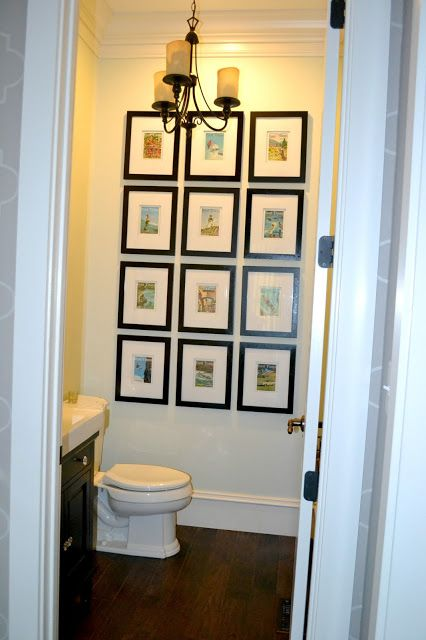 Decor You Adore Wall Art How To Make A Big Impact With A Small Glamorous Small Bathroom Wall Art Inspiration Design