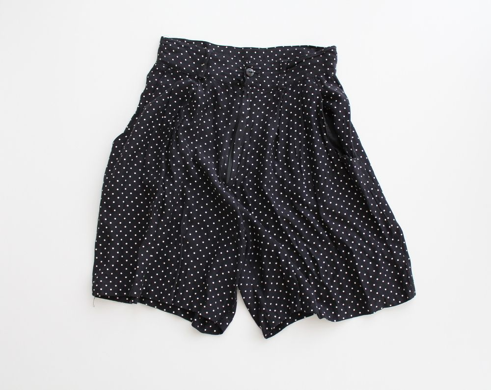 Polka Dot High Waisted Shorts