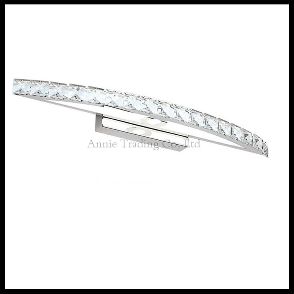 Crystal ledmirror light bubble crystal stainless steel bathroom mirror - Led Mirror Lights