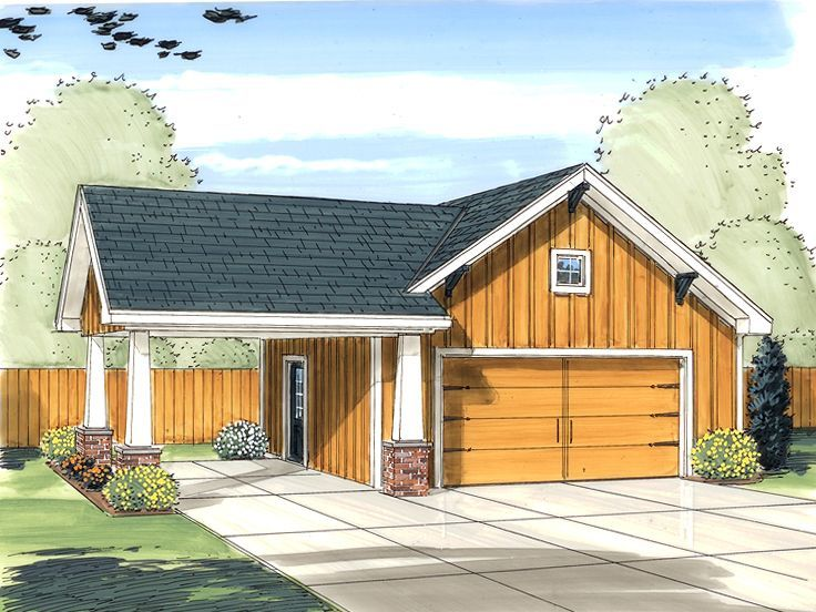 Plan 050G0030 Garage Plans and Garage Blue Prints from