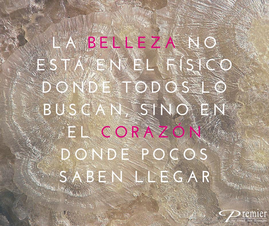 Belleza y corazón siempre han de ir de la mano, para ser más real y sincero. con @PremierESP #Citas #BellezaInterior #CorazonSincero