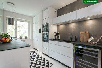 Kaksion moderni keittiö