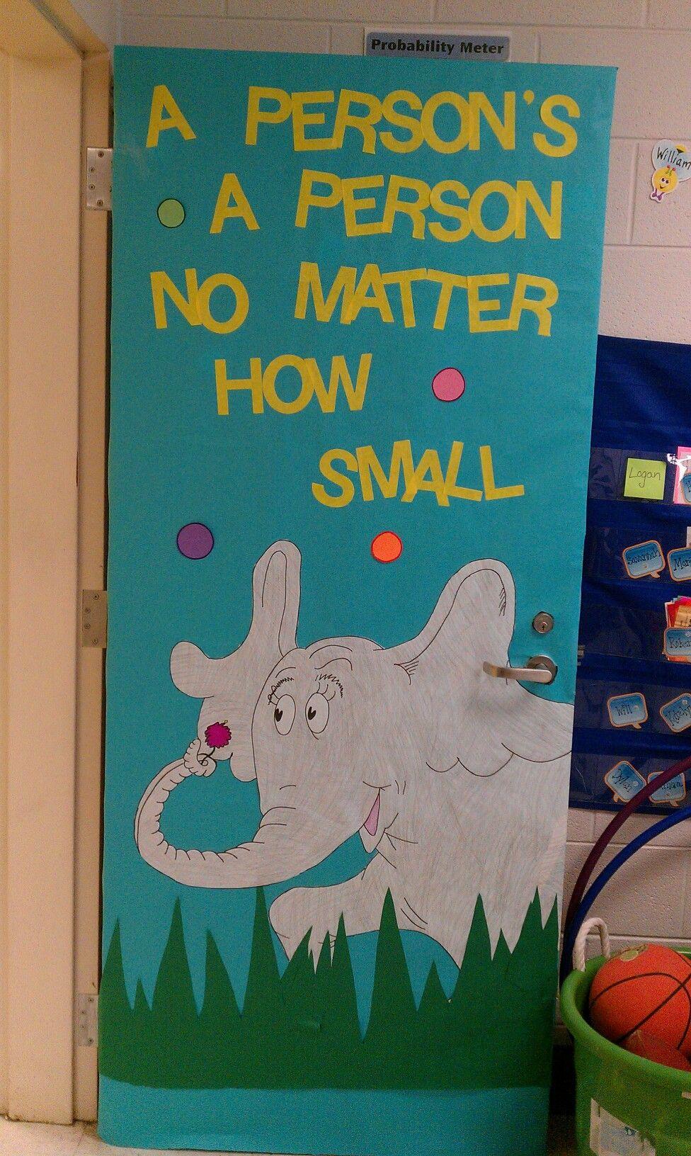 Horton door decoration & Horton door decoration | school | Pinterest | Doors Decoration ... Pezcame.Com