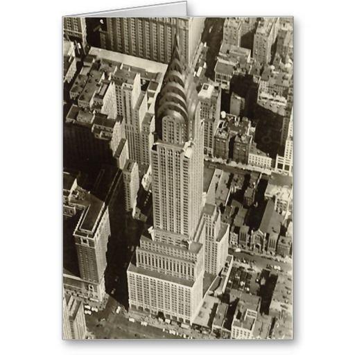 Birthday Card Chrysler Building NYC